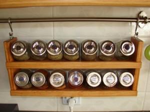 półka na przyprawy